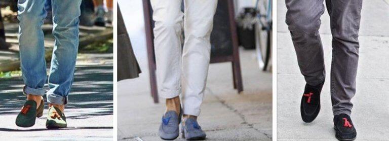 Jean ile birlikte bu ayakkabilar giyilir