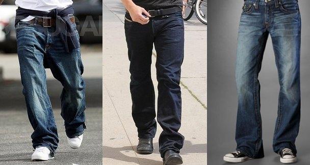 Erkekler için jean modelleri