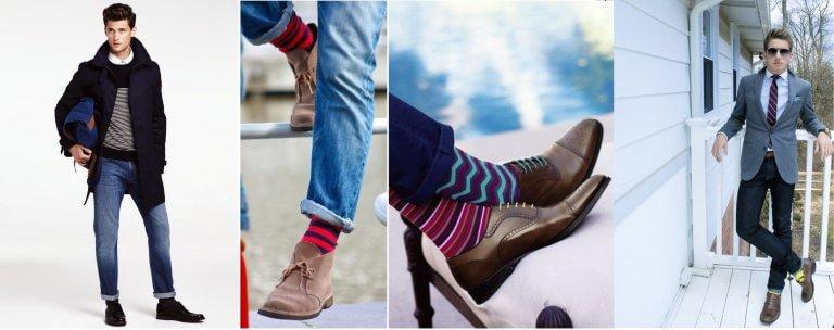 Jean ve Renkli Çoraplar!